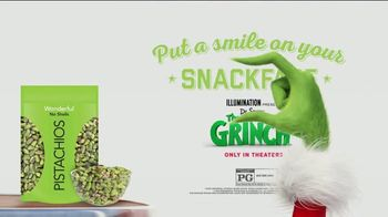 Wonderful Pistachios TV Spot, 'The Grinch: Full of Nuts' - Thumbnail 10