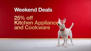 Target TV Spot, 'Weekend Deals: Kitchen Appliances and Cookware' Song by Sia