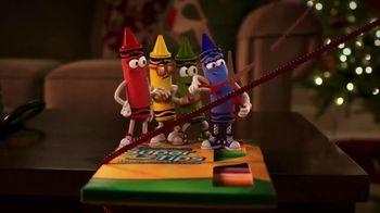 Crayola TV Spot, 'Holidays: Stocking Stuffers' - Thumbnail 3