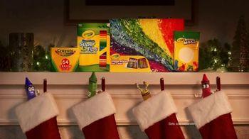 Crayola TV Spot, 'Holidays: Stocking Stuffers' - Thumbnail 9