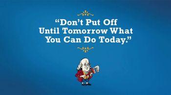 Benjamin Franklin Plumbing TV Spot, 'Tomorrow'