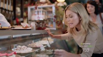 Ancestry Holiday Sale TV Spot, 'DNA Results' Featuring Kelly Ripa