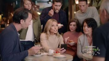 Ancestry Holiday Sale TV Spot, 'DNA Results' Featuring Kelly Ripa - 3147 commercial airings