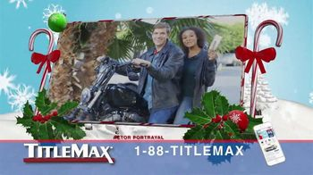 TitleMax TV Spot, 'Get the Holiday Cash You Need'