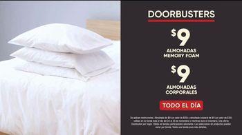 Mattress Firm Black Friday Doorbusters TV Spot, 'Almohadas por $9 dólares' [Spanish] - Thumbnail 5