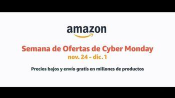 Amazon Semana de Cyber Monday TV Spot, 'Ofertas en todos los departamentos' [Spanish] - Thumbnail 10