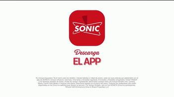 Sonic Drive-In Steakhouse Bacon Cheeseburger TV Spot, 'Queso fundido' [Spanish] - Thumbnail 9