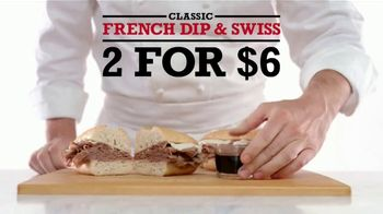 Arby's French Dip & Swiss TV Spot, 'Get Rich Quick' Song by YOGI - Thumbnail 4