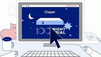 Casper TV Spot, 'Cyber Monday: 100 Night Trial' - Thumbnail 3