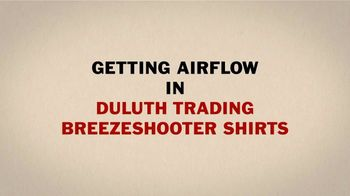 Duluth Trading Company Breezeshooter Shirts TV Spot, 'Winded' - Thumbnail 4