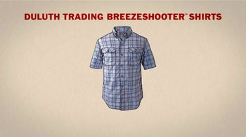 Duluth Trading Company Breezeshooter Shirts TV Spot, 'Winded' - Thumbnail 7