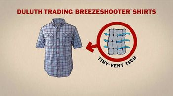 Duluth Trading Company Breezeshooter Shirts TV Spot, 'Winded' - Thumbnail 8