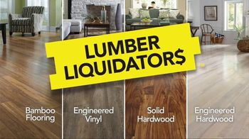 Lumber Liquidators Hardwood Savings Sale TV Spot, 'Hottest Styles'