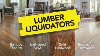 Lumber Liquidators Hardwood Savings Sale TV Spot, 'Hottest Styles'