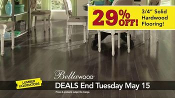 Lumber Liquidators Hardwood Savings Sale TV Spot, 'Hottest Styles' - Thumbnail 3
