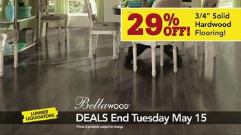 Lumber Liquidators Hardwood Savings Sale TV Spot, 'Hottest Styles' - Thumbnail 4
