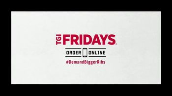 TGI Friday's Big Ribs TV Spot, 'Our Big Ribs Jam Just Dropped' - Thumbnail 9