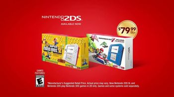 Nintendo 2DS XL TV Spot, 'Turn Downtime Into Fun Time' - Thumbnail 8