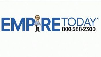 Empire Today Buy One Get Two Free Sale TV Spot, 'Carpet, Hardwood or Laminate' - Thumbnail 1