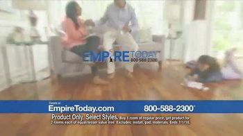 Empire Today Buy One Get Two Free Sale TV Spot, 'Carpet, Hardwood or Laminate' - Thumbnail 2