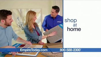Empire Today Buy One Get Two Free Sale TV Spot, 'Carpet, Hardwood or Laminate' - Thumbnail 6