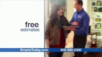 Empire Today Buy One Get Two Free Sale TV Spot, 'Carpet, Hardwood or Laminate' - Thumbnail 7