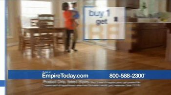 Empire Today Buy One Get Two Free Sale TV Spot, 'Carpet, Hardwood or Laminate' - Thumbnail 8