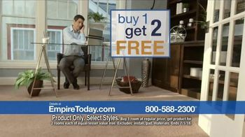 Empire Today Buy One Get Two Free Sale TV Spot, 'Carpet, Hardwood or Laminate' - Thumbnail 9