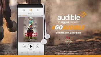 Audible Inc. TV Spot, 'Cheer for Audible the Racehorse' - Thumbnail 10