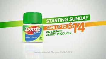 Zyrtec TV Spot, 'Carpool: One Sneeze Away' - Thumbnail 10