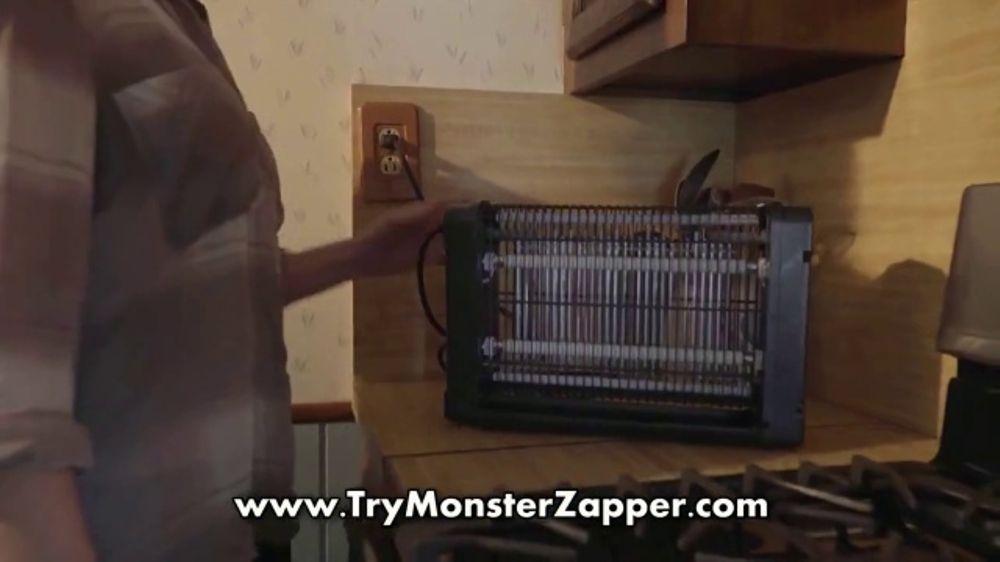 Bell + Howell Monster Zapper TV Commercial, 'Indoor Insect Killer' - Video