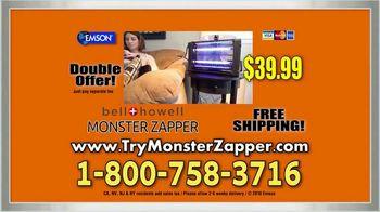 Bell + Howell Monster Zapper TV Spot, 'Indoor Insect Killer' - Thumbnail 9
