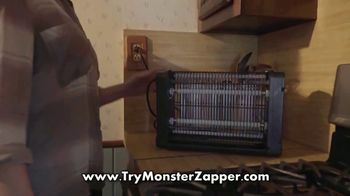 Bell + Howell Monster Zapper TV Spot, 'Indoor Insect Killer'