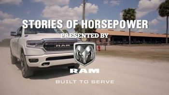 Ram Trucks TV Spot, 'History Channel: A Day as a Horse Trainer' - Thumbnail 2