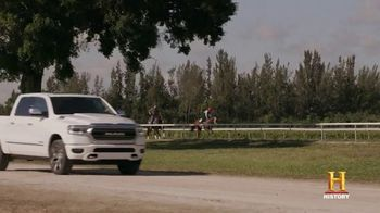 Ram Trucks TV Spot, 'History Channel: A Day as a Horse Trainer' - Thumbnail 4