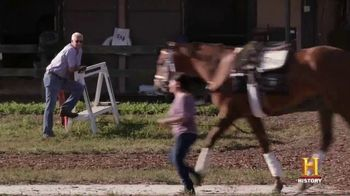 Ram Trucks TV Spot, 'History Channel: A Day as a Horse Trainer' - Thumbnail 7