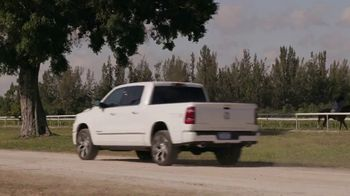 Ram Trucks TV Spot, 'History Channel: A Day as a Horse Trainer' - Thumbnail 9