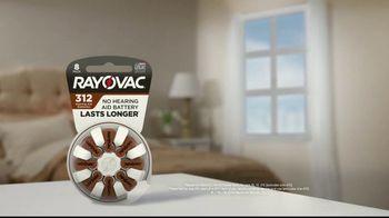 Rayovac Hearing Aid Batteries TV Spot, 'Two Days Longer' - Thumbnail 1