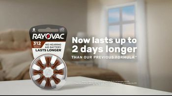 Rayovac Hearing Aid Batteries TV Spot, 'Two Days Longer' - Thumbnail 2