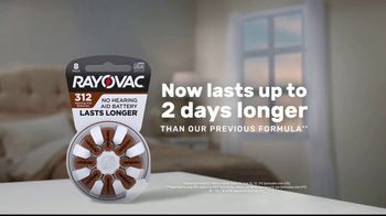 Rayovac Hearing Aid Batteries TV Spot, 'Two Days Longer' - Thumbnail 3