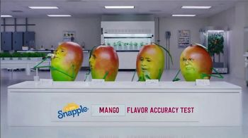 Snapple Takes 2 to Mango Tea TV Spot, 'Tastes Just Like Us' - Thumbnail 1