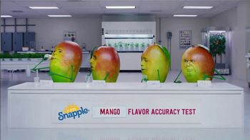 Snapple Takes 2 to Mango Tea TV Spot, 'Tastes Just Like Us' - Thumbnail 2