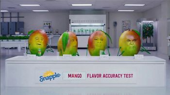 Snapple Takes 2 to Mango Tea TV Spot, 'Tastes Just Like Us' - Thumbnail 9