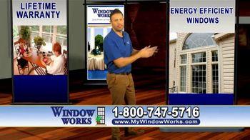 Window Works Window Blowout Sale TV Spot, 'Replace Old Windows' - Thumbnail 1
