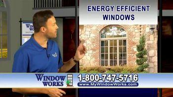 Window Works Window Blowout Sale TV Spot, 'Replace Old Windows' - Thumbnail 3