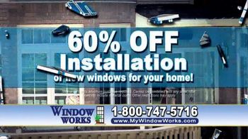 Window Works Window Blowout Sale TV Spot, 'Replace Old Windows' - Thumbnail 4