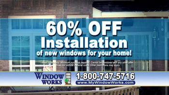 Window Works Window Blowout Sale TV Spot, 'Replace Old Windows' - Thumbnail 5