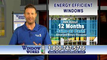 Window Works Window Blowout Sale TV Spot, 'Replace Old Windows' - Thumbnail 6