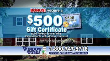 Window Works Window Blowout Sale TV Spot, 'Replace Old Windows' - Thumbnail 7