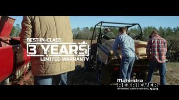 Mahindra Retriever 1000 TV Spot, \'Work Hard. Play Hard.\'